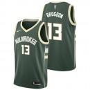 Malcolm Brogdan - Hombre Milwaukee Bucks Nike Icon Swingman Camiseta de la NBA Rebajas