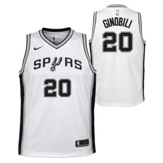 Baratas Manu Ginobli - Adolescentes San Antonio Spurs Nike Association Swingman Camiseta de la NBA
