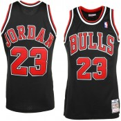 Comprar Mens Chicago Bulls Michael Jordan Mitchell & Ness Negro  97- 98 Hardwood Classics Authentic Camiseta
