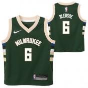 Milwaukee Bucks Nike Icon Replica Camiseta - Eric Bledsoe - Niño Ventas Baratas Madrid
