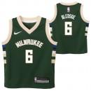 Original Milwaukee Bucks Nike Icon Replica Camiseta - Eric Bledsoe - Toddler