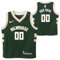 Milwaukee Bucks Nike Icon Replica Camiseta de la NBA - Personalizada - Niño Outlet Bonaire