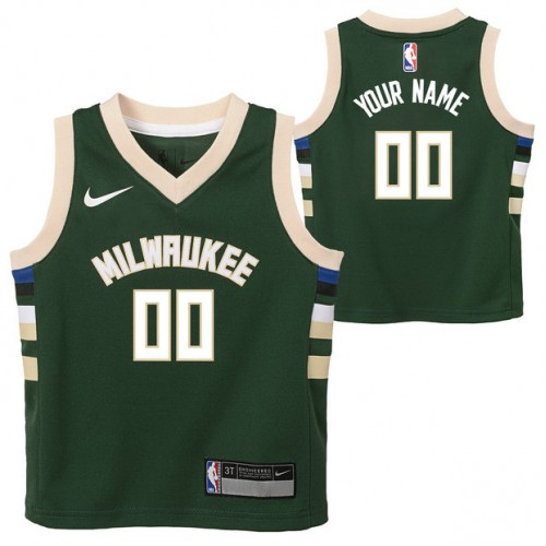 Milwaukee Bucks Nike Icon Replica Camiseta de la NBA - Personalizada - Niño  Outlet Bonaire 5d084f1dd88d1