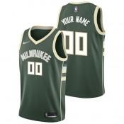 Rebajas en Milwaukee Bucks Nike Icon Swingman Camiseta de la NBA - Personalizada - Hombre Madrid