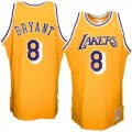 Mitchell   Ness Kobe Bryant Los Angeles Lakers 1996-1997 Hardwood Classics  Throwback Authentic Home ae25201ad51