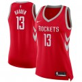 Mujer Houston Rockets James Harden #13 Rojo Swingman Camiseta Ventas Baratas Sevilla