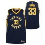Oficiales Myles Turner - Adolescentes Indiana Pacers Nike Icon Swingman Camiseta de la NBA