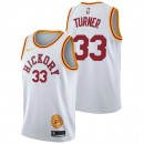 Myles Turner - Hombre Indiana Pacers Nike Classic Edition Swingman Camiseta Outlet Barcelona
