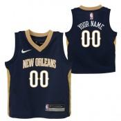 New Orleans Pelicans Nike Icon Replica Camiseta de la NBA - Personalizada - Niño España Precio