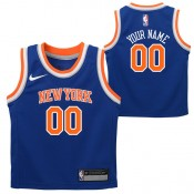 Baratas New York Knicks Nike Icon Replica Camiseta de la NBA -  Personalizada - Niño af2d6094782