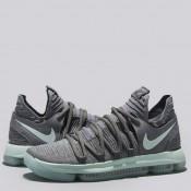 Nike Zoom KD 10 Zapatilla de Baloncesto - Cool Gris/Igloo-Blanco - Hombre Alicante Tienda