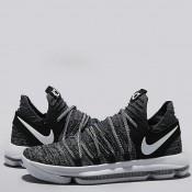 Nike Zoom KD 10 Zapatilla de Baloncesto - Negro/Blanco - Hombre Tienda En Madrid