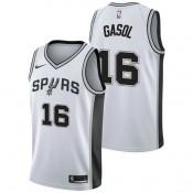 Pau Gasol #16 - Hombre San Antonio Spurs Nike Association Swingman Camiseta de la NBA Venta a Bajo Precio