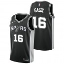 Pau Gasol #16 - Hombre San Antonio Spurs Nike Icon Swingman Camiseta de la NBA Madrid Precio de Descuento