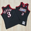 Philadelphia 76ers Allen Iverson 1997-98 Home Authentic Camiseta By Mitchell & Ness Outlet Alcorcon