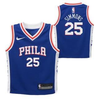 Philadelphia 76ers Nike Icon Replica Camiseta de la NBA - Ben Simmons - Niño Madrid Online