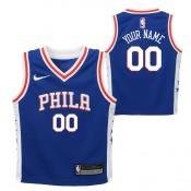 Philadelphia 76ers Nike Icon Replica Camiseta de la NBA - Personalizada - Niño Barcelona Precio
