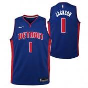 Reggie Jackson - Adolescentes Detroit Pistons Nike Icon Swingman Camiseta de la NBA Madrid Precio de Descuento