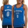 Russell Westbrook Oklahoma City Thunder Mujer Fashion Camiseta - Royal Azul Tienda En Madrid