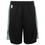 San Antonio Spurs Nike Practise Pantalones cortos - Negro/Flat Plata - Adolescentes Ventas Baratas Asturias