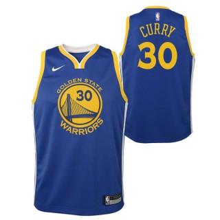 Stephen Curry #30 - Adolescentes Golden State Warriors Nike Icon Swingman Camiseta de la NBA Baratas España