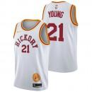 Thaddeus Young - Hombre Indiana Pacers Nike Classic Edition Swingman Camiseta Barato