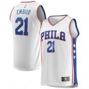 Youth Philadelphia 76ers Joel Embiid #21 Fanatics Branded Blanco Fast Break Camiseta Sitio Oficial España