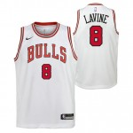 Zach Lavine - Adolescentes Chicago Bulls Nike Association Swingman Camiseta de la NBA Ventas Baratas Oviedo